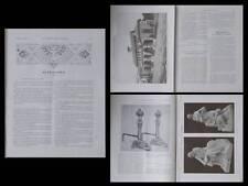 LA CONSTRUCTION MODERNE, n°6, 1910, MOET ET CHANDON, HENRI PIQUART, PUGET