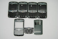LOT of 5 BLACKBERRY CURVE 8300 8320 Grey 3pc hosuing used