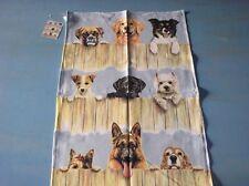 Linen Tea Towel Dogs