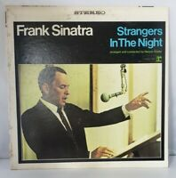 Frank Sinatra Strangers In The Night Nelson Riddle 1966 Jazz Mono LP Vinyl Album