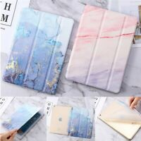 "For iPad Air Pro 9.7"" iPad 6th 2018 Slim Marble Stone Smart Magnetic Case Cover"