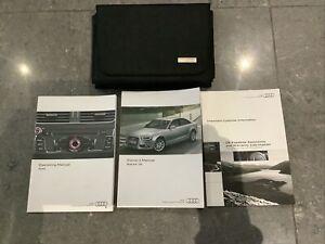 Audi S4 Car Owner Operator Manuals For Sale Ebay