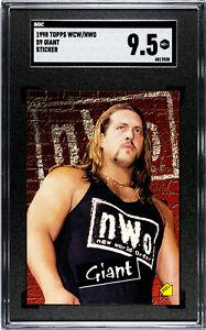 "1998 TOPPS WCW/NWO #S9 GIANT ROOKIE ""BIG SHOW"" SGC 9.5 MINT - PAUL WIGHT"