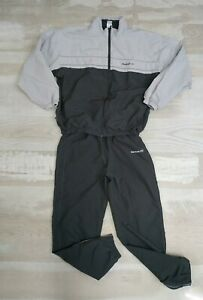 Reebok classic vintage tracksuit gray pants and jacket size m