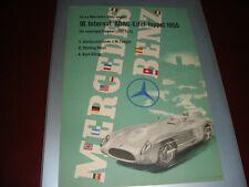 F1MERCEDES-BENZ POSTER LOCANDINA 18.INTERNAT.ADAC-EIFEL-LOPPET 1955 ,ORIGINALE !