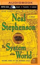 Baroque Cycle: The System of the World 3 by Neal Stephenson (2014, MP3 CD,...
