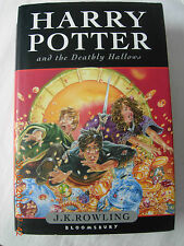 Harry Potter and the Deathly Hallows by J. K. Rowling (Hardback, 2007) w/dj