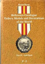 LANZ Barac reference catalogue orders MEDALS DECORATIONS world IV Gold Book ~ c2