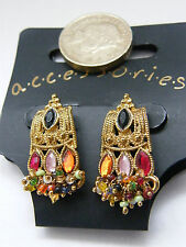 New colourful pierced earrings