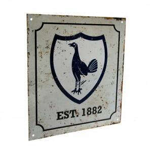 Tottenham Hotspur FC Retro Metal Sign