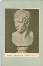 Altes CDV Bild - Napoleon I. Büste