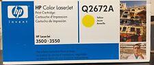 HP Color LaserJet Yellow Print Cartridge - Q2672A 3500 3550