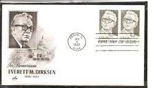 US SC # 1874 Everett Dirksen   FDC .   Artmaster Cachet.
