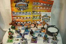 Wii Skylanders Giants Bundle - Game, 16 Figures, Portal of Power, Poster & Cards