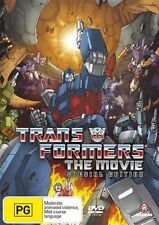 Transformers - The Animated Movie Special Ed (DVD, 2007, 2-Disc Set) Region 4