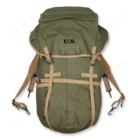 WW2 US ARMY KOREAN WAR M1943 ARMY GREEN BACKPACK RUCKSACK SHOULDER PACKAGE