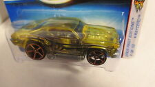 2005 First Editions #54 X-Raycers #4 `69 CHEVELLE yellow w/ FTE faster than ever