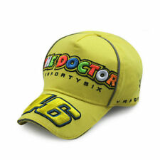 Doctor 46 Moto GP Baseball Hat Peaked Cap Racing Sport Yellow Cap Headgear