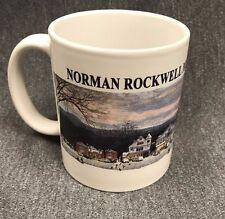 Norman Rockwell Museum Mug At Stockbridge  Cup Main Street Christmas Painting