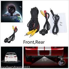 2 X NTSC/PAL 170° Car Vehicles Astern Backup Parking CCD Camera Kit For Cadillac
