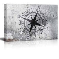 Hand Made Distressed Wood ENS1000810 Custom Compass City State Lat Long Sign
