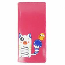 Carini Kitty e BIRD lungo Purse-Fucsia