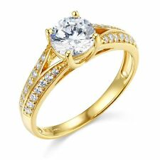 1.60ct Solid 14k Yellow OR White Gold SOLID Wedding Engagement Ring