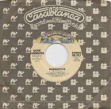 GENE SIMMONS  Radioactive / See You In Your Dreams  rare 45 from 1978  KISS