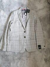 Womens next Tailoring Blazer Checked  Bnwt Rrp £65 Size Uk 18