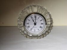 Shannon Crystal Quartz table clock
