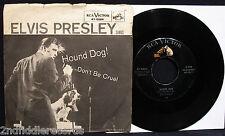 ELVIS PRESLEY-Hound Dog-Picture Sleeve & 45-RCA VICTOR #47-6604-Rockabilly