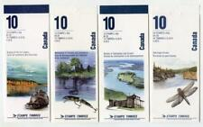 Canada River Series x 4 Booklets. 1990's MNH