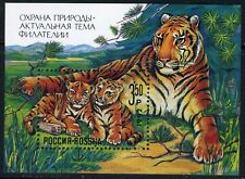 Russia-1992  Tiger Animals Fauna Protection of Nature