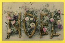 Carte Postale NOËL 1911 Cachet ¨PARIS de Lulu à Maurice FRAIKIN de BRUXELLES