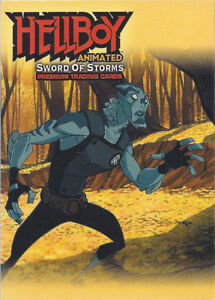 """2006 Hellboy Animated: Swrod of Storms """"Promo Card"""" #HA-2"""