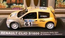 RENAULT CLIO S1600 #61 ACROPOLIS RALLY 2003 IXO TIRABASSI 1/43 ALTAYA RENUCCI