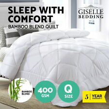 Giselle Bamboo Quilt King Microfiber Microfibre Duvet Cover All Size All Season