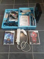 Boxed Nintendo Wii Black Console Setup + Disney & Marvel Games Bundle