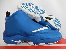 NIKE ZOOM FLIGHT THE GLOVE ROYAL BLUE-WHITE-BLACK SZ 9.5 DUKE! [616772-400]
