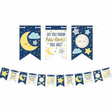 Twinkle Twinkle Little Star Banner BABY SHOWER Party Decoration Supplies Garland