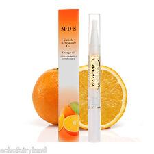 8ml Fresh Orange Flavor Nutritional Cuticle Soften Oil Nail Art Manicure Tools