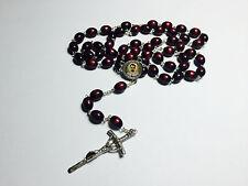 Charles Eugene de Foucauld relic rosary of French Catholic religious and priest