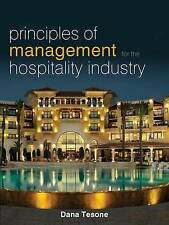 Principles of Management for the Hospitality Industry by Dana V. Tesone (Paperb…