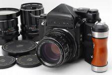 【N.MINT-】Pentax 6x7 67 MLU TTL Takumar 55mm 105mm 135mm Lens Grip from Japan#x14