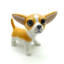 Chihuahua Dog Figurine Ceramic Animal Statue - CDG131