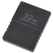 32MB PS2 Tarjeta de Memoria Spielstände Speichern Sony Playstation 2 Z34