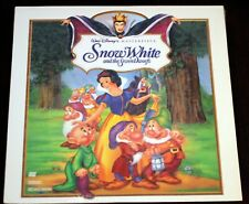 Walt Disney LASERDISC Snow White and the Seven Dwarfs Extended Play Dolby NEW