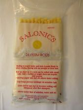 Solonics Perm Rods Yellow 24 Count Hair Curlers Rollers Beauty Supply New