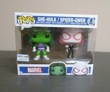 She-Hulk Spider-Gwen FUNKO POP Marvel Heroes MIB NEW 2 Pack