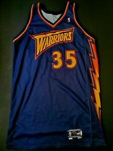 Terry Cummings Golden State Warriors Game Worn Road Jersey (MEARS LOA)